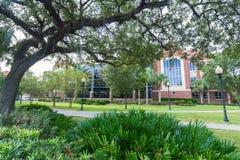 Bibliothèque occidentale à l'université de la Floride photo stock