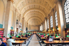 Bibliothèque publique de Boston Image libre de droits