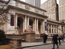 Bibliothèque publique de New York Photos stock