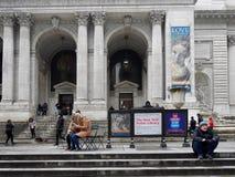 Bibliothèque publique de New York Photographie stock