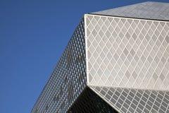 Bibliothèque publique de Seattle Photo stock
