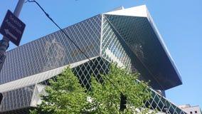 Bibliothèque publique de Seattle Images stock