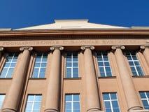 Bibliothèque publique nationale - chelyabinsk Photos stock
