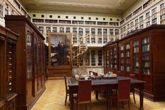 Bibliothèque scientifique de D I Institut de Mendeleyev pour la métrologie images libres de droits