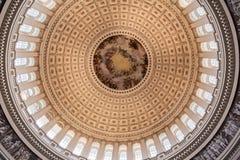 Bibliothèque Washington rotunda du congrès photos libres de droits
