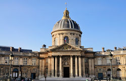 biblioth France mazarine Paris que fotografia stock