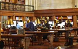 Bibliotheek Stock Foto's