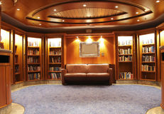 Bibliotheek Royalty-vrije Stock Foto's