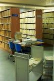 Bibliotheek stock fotografie