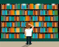 bibliotheek stock illustratie