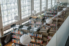 bibliotheek Stock Afbeeldingen