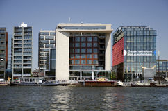 Bibliotheek Amsterdam Fotografia Stock