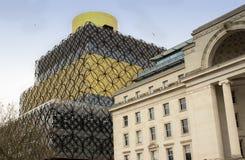 Bibliotheek in Birmingham, Engeland royalty-vrije stock foto