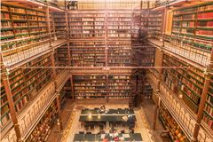Bibliotheek de Oude Foto de archivo