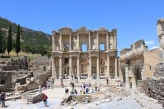 Bibliotheek in Ephesus Stock Afbeelding