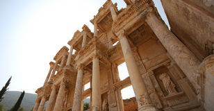 Bibliotheek in Ephesus Royalty-vrije Stock Foto