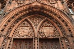 Bibliotheek in Manchester Stock Fotografie