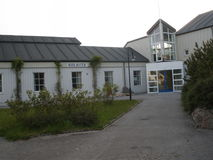 Bibliotheek in Rorvik Stock Foto's