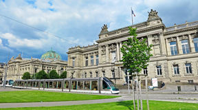 Bibliotheek Straatsburg Royalty-vrije Stock Fotografie