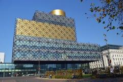 Bibliotheek van Birmingham stock afbeelding