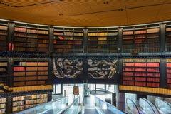 Bibliotheek van Birmingham Binnenlands J stock foto
