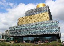Bibliotheek van Birmingham, West Midlands, Engeland Royalty-vrije Stock Foto's