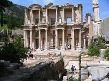 Bibliotheek van Celsus Stock Afbeelding
