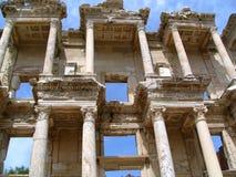 Bibliotheek van Celsus Stock Fotografie