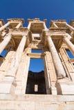 Bibliotheek van Celsus in Ephesus Royalty-vrije Stock Foto's