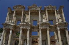 Bibliotheek van Celsus in Ephesus, Turkije Royalty-vrije Stock Afbeelding