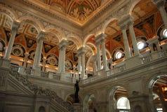 Bibliotheek van Congres royalty-vrije stock afbeelding