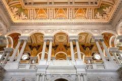 Bibliotheek van Congres Stock Afbeelding