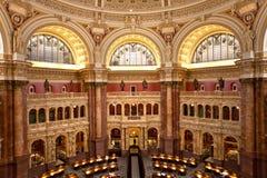 Bibliotheek van Congres Royalty-vrije Stock Foto