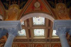Bibliotheek van Congres Stock Afbeeldingen
