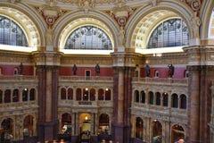 Bibliotheek van Congres in Washington DC stock foto's