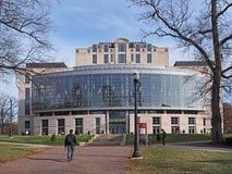 Bibliotheek van de Universiteit van de Staat van Ohio stock foto's