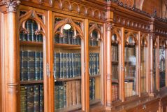 Bibliotheek van het Paleis van de Winter Royalty-vrije Stock Afbeelding