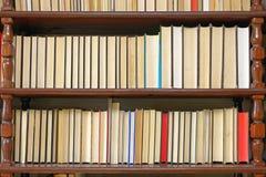 bibliotheekboeken Stock Foto