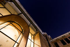 Bibliotheekingang van Tsinghua-Universiteit Royalty-vrije Stock Afbeeldingen