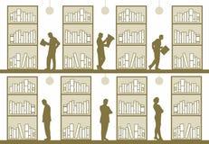 bibliothek lizenzfreie abbildung