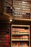 Bibliothek der juristischen Fakultät Stockbild