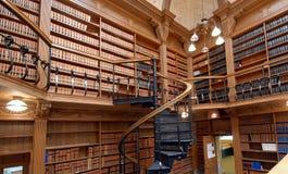 Bibliothek der juristischen Fakultät Lizenzfreie Stockfotografie