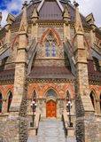 Bibliothek des Parlaments Stockfotografie
