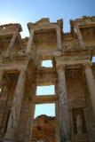 Bibliothek in Efes/in Ephesus Lizenzfreies Stockfoto