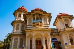 bibliothek Udaipur, Indien stockfoto