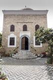Bibliothek von Ahmet Havuz Rhodes Lizenzfreie Stockfotos