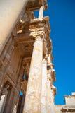 Bibliothek von Celsus Stockbilder