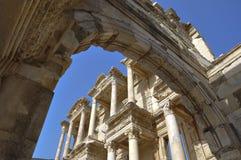 Bibliothek von Celsus Lizenzfreie Stockfotografie