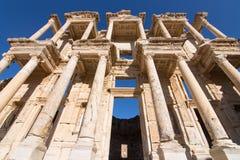 Bibliothek von Celsus in Ephesus Stockbild