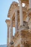 Bibliothek von Ephesus Stockfotografie